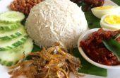 NASI LEMAK (Kokosmilch Reis)