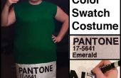 Pantone Color Swatch Kostüm
