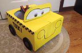 Schnelle und einfache Last-Minute Taxi-Kostüm