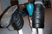 PVC Stiefel wärmeren
