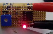 Einzelne weiße Linie Detektor für SUMO-Roboter