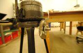 Die Vandalen brach der Griff - Gearhart stricken Maschine reparieren mit Laser