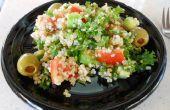 """Einfach coole Sommer-Quinoa und Kale """"Teaneck Salat""""-Veganer, glutenfreie"""