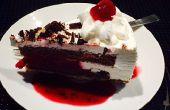 Kirsch Tiramisu-Eis-Kuchen