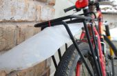Fahrrad Fender machte aus einem Kunststoff Krug