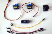 Arduino Nano und Visuino: Servos mit Joystick steuern