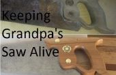 Halten Opa sah lebendig