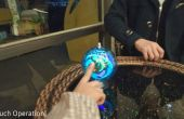Dynamische Übertragung - Interaktion zu berühren - Farbe LED Ball