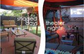 Patio - schattierten Tage Theater Nächte perfekt