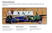 Home Automation mit Knoten Js, Raspberry Pi und Heimcontrol