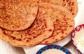 Wie erstelle ich indisches Fladenbrot, Roti