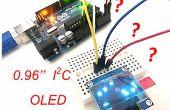 """Die erste Verwendung von 0,96"""" I2C-OLED-Display mit Arduino UNO"""