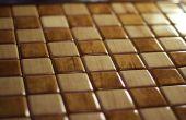 Festes Holz Intarsien Schach-Brett