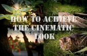 Erreichen einen beeindruckende professionellen Film filmische (billig und leicht)