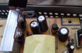 Reparatur von LCD-Monitor: wie man nicht geplante Obsoleszenz Opfer