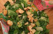 Wie erstelle ich ein hausgemachtes Caesar Salat