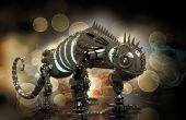 Dinobot - Heavy Metall Roboter für 3D-Druck