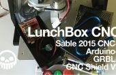 CNC-Sable 2015 + Arduino + GRBL = LunchBox CNC