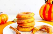 Gebackene Donuts Pumpkin Spice