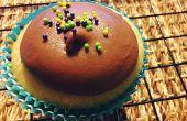 Vanille Milch Schokolade Cupcakes Rezept bereift