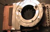 Einen Überhitzung Laptop zu reparieren, indem vorhandene Lüfter 12V BLDC Fan und Luftstrom zu verbessern