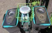 """DIY """"Street Party Fahrrad Stereo"""" kann jeder leicht mit minimalem Werkzeuge bauen"""