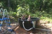 Redneck Tub im freien