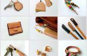 DIY-Schrott Leder Projekte