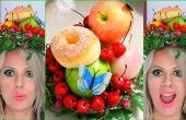 DIY-Handwerk Obst Haarschmuck Kopfschmuck Hut