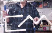 """Wie man die Buchstaben """"E"""" und """"M"""" aus PVC zu konstruieren"""