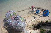 Water Bottle Kajak mit Ausleger