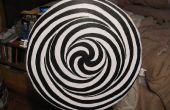 Machen Sie eine motorisierte LSD-Spirale - eine leistungsfähige Illusion auf Ihrer Wand!