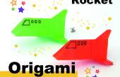 Wie man Origami eine Rakete