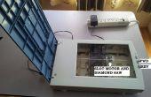 Re-purposing einen alten Scanner in eine Tischplatte sah