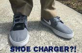 Piezoelektrische Schuhe: Laden Sie Ihr Mobile Gerät zu Fuß!