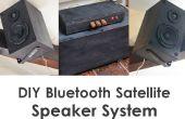 DIY-Bluetooth-Satelliten-Lautsprecher-System w Subwoofer /