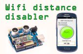 Android WLAN Disabler mit Arduino Distanzsensor