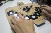 Kapazitive Touch Arduino Tasteninstrumente Klavier