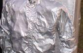 Einfache Han Solo in Carbonite Kostüm eingefroren