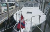 Macht ein Stander Cover für Ihr Boot