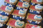 Regenbogen Nyan Cat Cupcakes