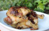 Chorizo Butter gebratenes Huhn