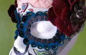 Calavera Maske Leder