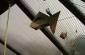 Origami Fisch Mobile
