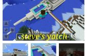 Minecraft-Steve Yacht