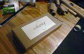 Laser-Cut Schablone Buchstaben