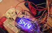TimeDuino - 7-Segment Arduino Uhr (kein Schieberegister benötigt!)