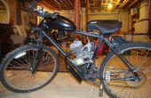 Ein Fahrrad motorisieren