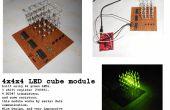 4 x 4 x 4 LED-Würfel mit MSP430, mit nur 3 Pins