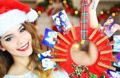 DIY-Weihnachts-Geschenk (Foto Kranz)